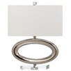 "Decorator's Lighting Gateway 18"" H Table Lamp with Rectangular Shade"