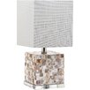 "Decorator's Lighting Stella Maris 16"" H Table Lamp with Square Shade"