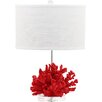 "Decorator's Lighting Stella Maris 20.75"" H Table Lamp with Drum Shade"