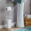 Wayfair Basics Wayfair Basics Toilet Paper Holder with Dispenser Bar