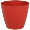 Wayfair Basics Plastic Pot Planter Set (Set of 6) Color: Brick, Size: 4 inch High x 4.7 inch Wide x 4.7 inch Deep - Wayfair Basics Planters