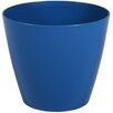 Wayfair Basics Plastic Pot Planter Set (Set of 6) Color: Sapphire, Size: 4 inch High x 4.7 inch Wide x 4.7 inch Deep - Wayfair Basics Planters