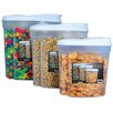 Wayfair Basics Wayfair Basics 3-Piece Plastic Food Storage Container Set