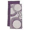 Janey Lynn's Designs Inc Serendipity/Sprial 2 Piece Towel Set