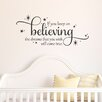 Belvedere Designs LLC Quotes™ Keep on Believing