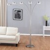 """Artiva USA Micah LED 88"""" Arched Floor Lamp"""