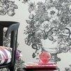 Clarke&Clarke Floribunda 10.05m L x 52cm W Roll Wallpaper