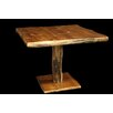 "Utah Mountain Aspen 42"" Pedestal Dining Table"