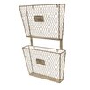 American Mercantile Metal 2 Tier File Holder