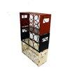 American Mercantile Metal 3 Box Wine Rack