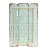 American Mercantile Wood Sign 'Friendships' Wall Decor