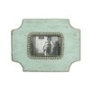 American Mercantile Wood Jeweled Picture Frame
