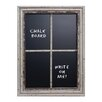 American Mercantile Window Pane Wall Mounted Chalkboard