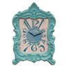 American Mercantile Wood Mantle and Wall Clock