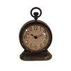 American Mercantile Metal Vintage Table Clock