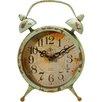 American Mercantile Metal Magnet Clock