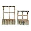 2-Piece Wood Planter Box Set - American Mercantile Planters