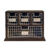 American Mercantile Wood Metal Bins