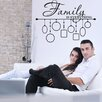 Style and Apply Family Picture Frame Wall Decal