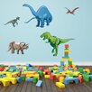 Style and Apply Colorful Dino Wall Decal