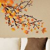 Style and Apply Spring Leaves Wall Decal