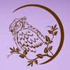 Style and Apply Wise Owl Wall Decal