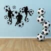 Style and Apply Soccer Ball Wall Decal