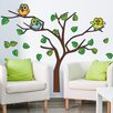 Style and Apply Owls in a Tree Wall Decal