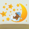 Style and Apply Teddy's Stars Wall Decal