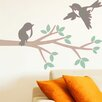 Style and Apply Branch and Birds Wall Decal