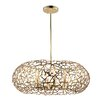 Zeev Helios 8 Light Candle Chandelier