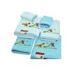 Makroteks Textile L.L.C. Lucia Minelli Kids Fun Park Embroidered 6 Piece Towel Set