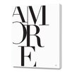 Curioos Amore by Renee Tohl Textual Art on Canvas