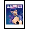 Curioos Audrey by Alessandro Pautasso Framed Graphic Art
