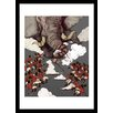 Curioos Elephant by Siyu Chen Framed Graphic Art