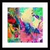 Curioos Graffuturism 1 by Carolyn Frischling Framed Graphic Art