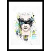 Curioos Light Thief by Raphaël Vicenzi Framed Painting Print