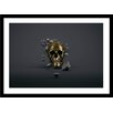 Curioos Gold Skull by Apachennov Graphic Art