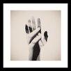 Curioos Hideaway Hands by Dan Mountford Framed Graphic Art