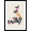 Curioos Filled With City by Ceren Kilic Framed Graphic Art