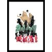 Curioos Habitat 09 by Ahmet Ozcan Framed Graphic Art