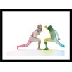 Curioos Dance by Paul Virlan Framed Graphic Art