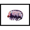 Curioos Bug Monster 07 by Ahmet Ozcan Framed Graphic Art