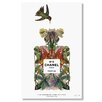Curioos 'CHANEL NO.5' by Sixto Juan Zavala Graphic Art on Wrapped Canvas