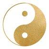 Prestige Art Studios Ying Yang Gold Foil Painting Print