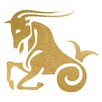 Prestige Art Studios Capricorn Gold Foil Painting Print