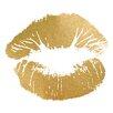 Prestige Art Studios Hot Kiss Gold Foil Painting Print