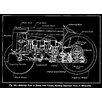 Prestige Art Studios Henry Ford Tractor Patent Graphic Art