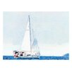 Prestige Art Studios Smooth Sailing Painting Print