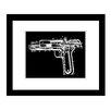 Prestige Art Studios Colt Model 1902 Patent Framed Graphic Art